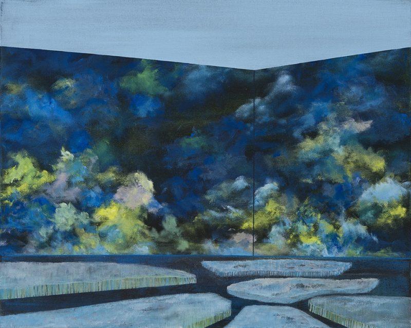 Théâtre boréal. 40,5 x 51 cm