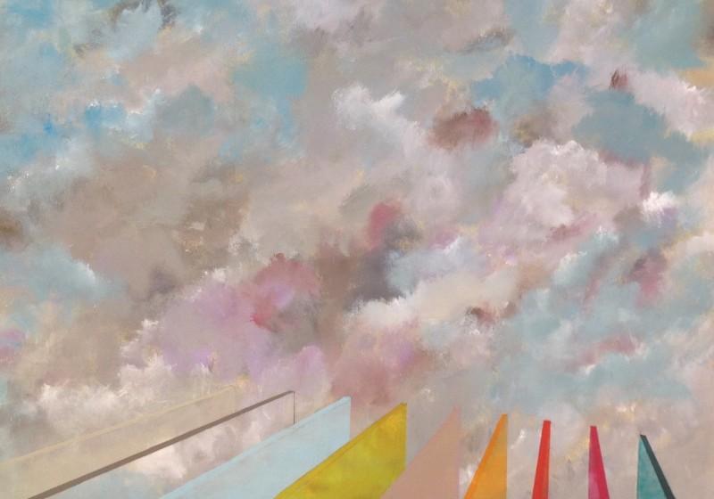 Chant du ciel-VENDU- 76 cm x 61 cm