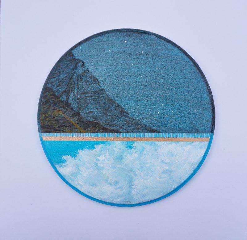 Ton ciel, ma terre, notre horizon-7, diamètre 15 cm