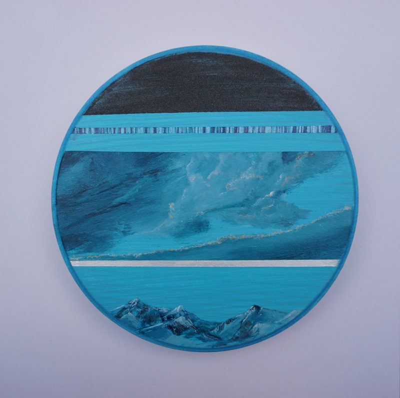 Ton ciel, ma terre, notre horizon-1, diamètre 15 cm
